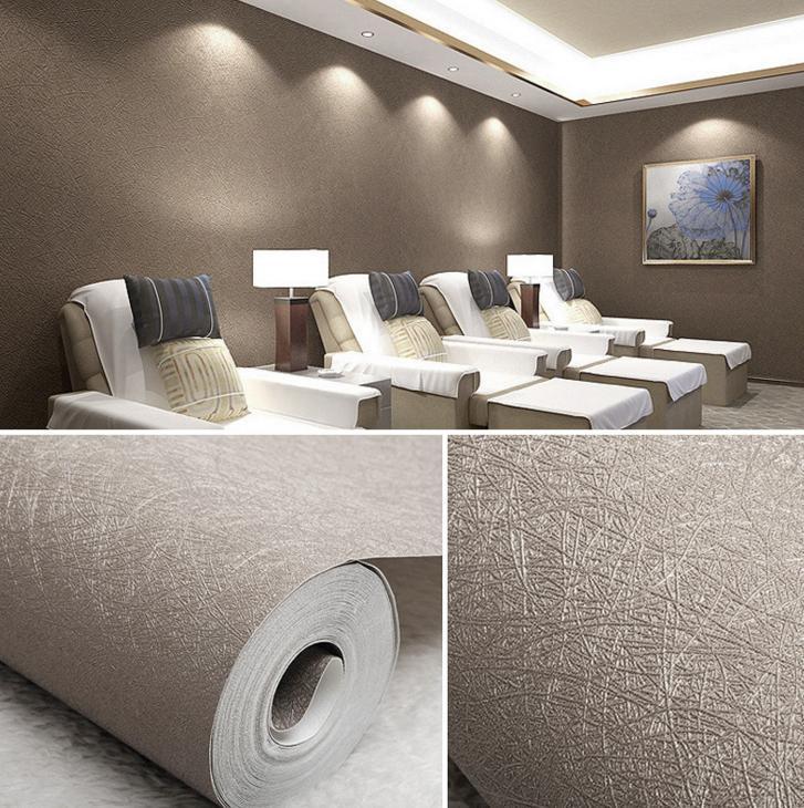 Philippines | 3D High-end Silk Wallpaper PVC Fashion Modern Wall ...