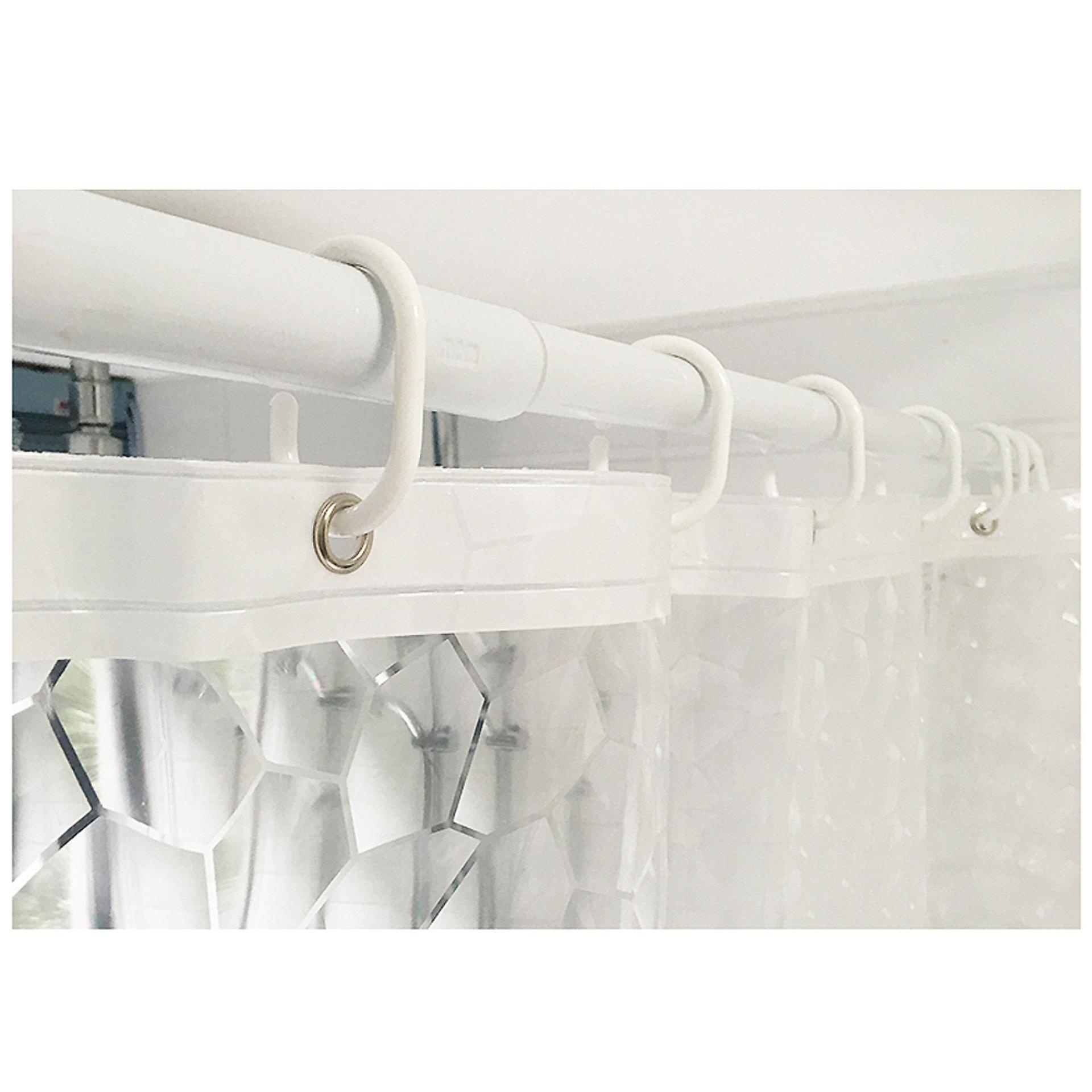 Philippines   3D Water Cube Mold Effect Bathroom Curtain PEVA Shower ...