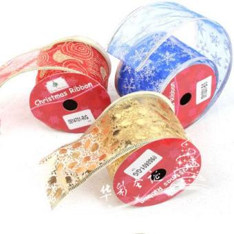 3m Christmas tree decoration color ribbon