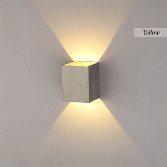 3W LED Square Wall Lamp Hall Walkway Living Room Light Fixture(White) - Intl - 3