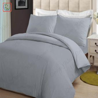 4 Pieces Sheet Set Beddings Microfiber Plain Full Size Bedsheet byModern Linens (Gray) Price Philippines