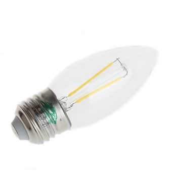 431189 E27 LED Tungsten Bulb (White)