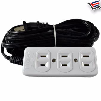 4.5m High Quality Heavy Duty 3 Sockets Extension Wire LL-88813