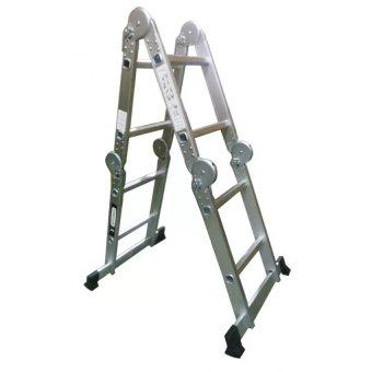 4x2 Aluminum 8-Step Super Ladder (Silver)