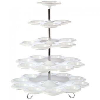 5-Tier Cupcake Stand White Price Philippines