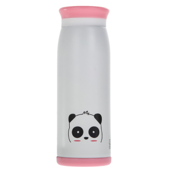500ml Thermos Mug Insulated Tumbler Travel Cups Panda