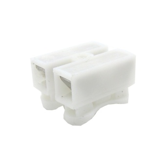 50PCS CH-2 Spring Wire Connectors Electrical Cable Clamp TerminalBlock - intl - 2