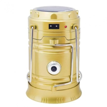 5800T 6 LED Solar Camping Lamp Rechargeable Lantern - 2