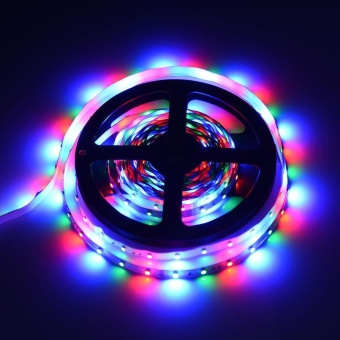 5M RGB 3528 300 Led SMD Flexible Light Strip Lamp+44 key IR Remote Controller - intl - 4