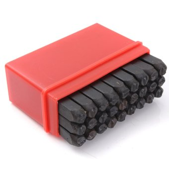 5MM Size Stamps Alphabet Letters Set Punch Steel Metal Die Tool Craft - 4