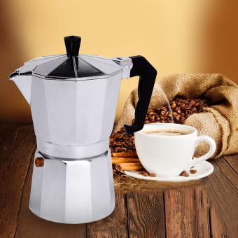 6 CUP MOKA Espresso Coffee Maker Percolator Perculator Stove TopNEW - 2
