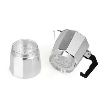 6 CUP MOKA Espresso Coffee Maker Percolator Perculator Stove TopNEW - 5