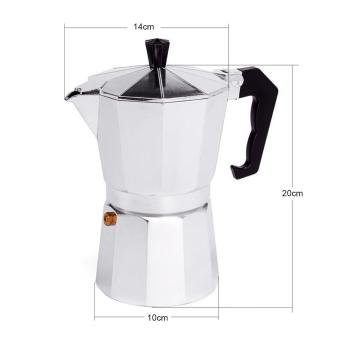 6 CUP MOKA Espresso Coffee Maker Percolator Perculator Stove TopNEW
