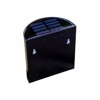 6 Pack Retro 6 LED Solar Powered Outdoor Path Light Yard Fence Gutter Garden Wall Lamp - intl - 3