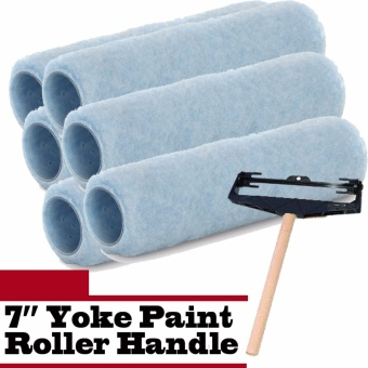 6 pc Cover Challenger Brand 7 Inch Paint Roller with Free YokeHandle Price Philippines