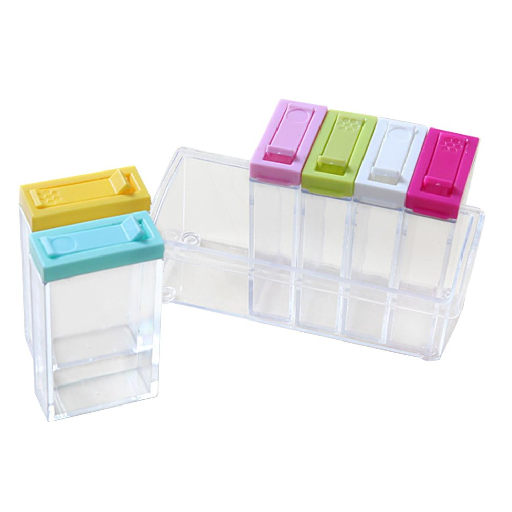 Philippines   6 PCS Clear Shaker Shaking Seasoning Box Jar Spice ...
