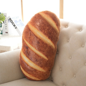 60 CM Creative Simulation of Baked Bread Slices with PillowsCushion Pillow Pillows Pillow Gift Setting - intl - 3