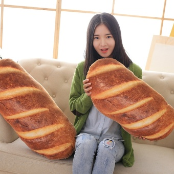 60 CM Creative Simulation of Baked Bread Slices with PillowsCushion Pillow Pillows Pillow Gift Setting - intl - 2