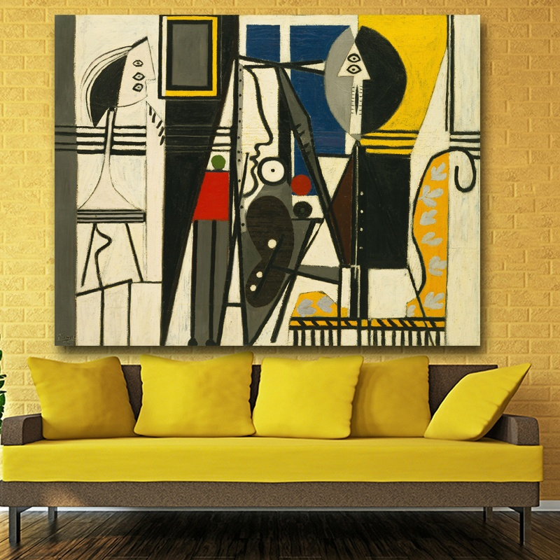 Philippines | 60x80CM Modern Abstract Oil Painting Print on Canvas ...