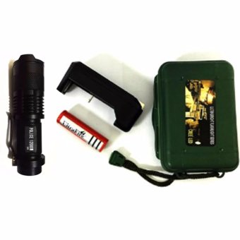#68 Rechargeable Cree LED Flashlight 30000W