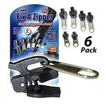 6Pcs Fix A Zipper Zip Slider Rescue Instant Repair Kit Replacement New - intl