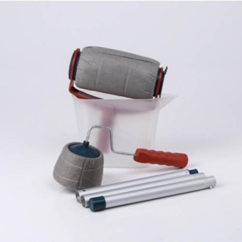 6Pcs/set Paint Roller Brush Handle Room Wall Painting Runner - intl
