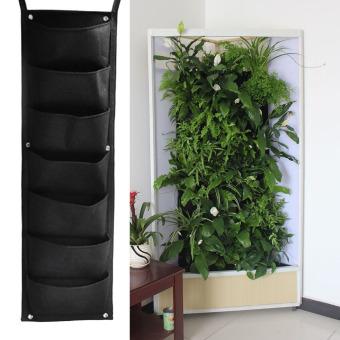 Marvelous 7 Pocket Hanging Vertical Garden Planter Indoor Outdoor Herb Pot Decor  Philippines