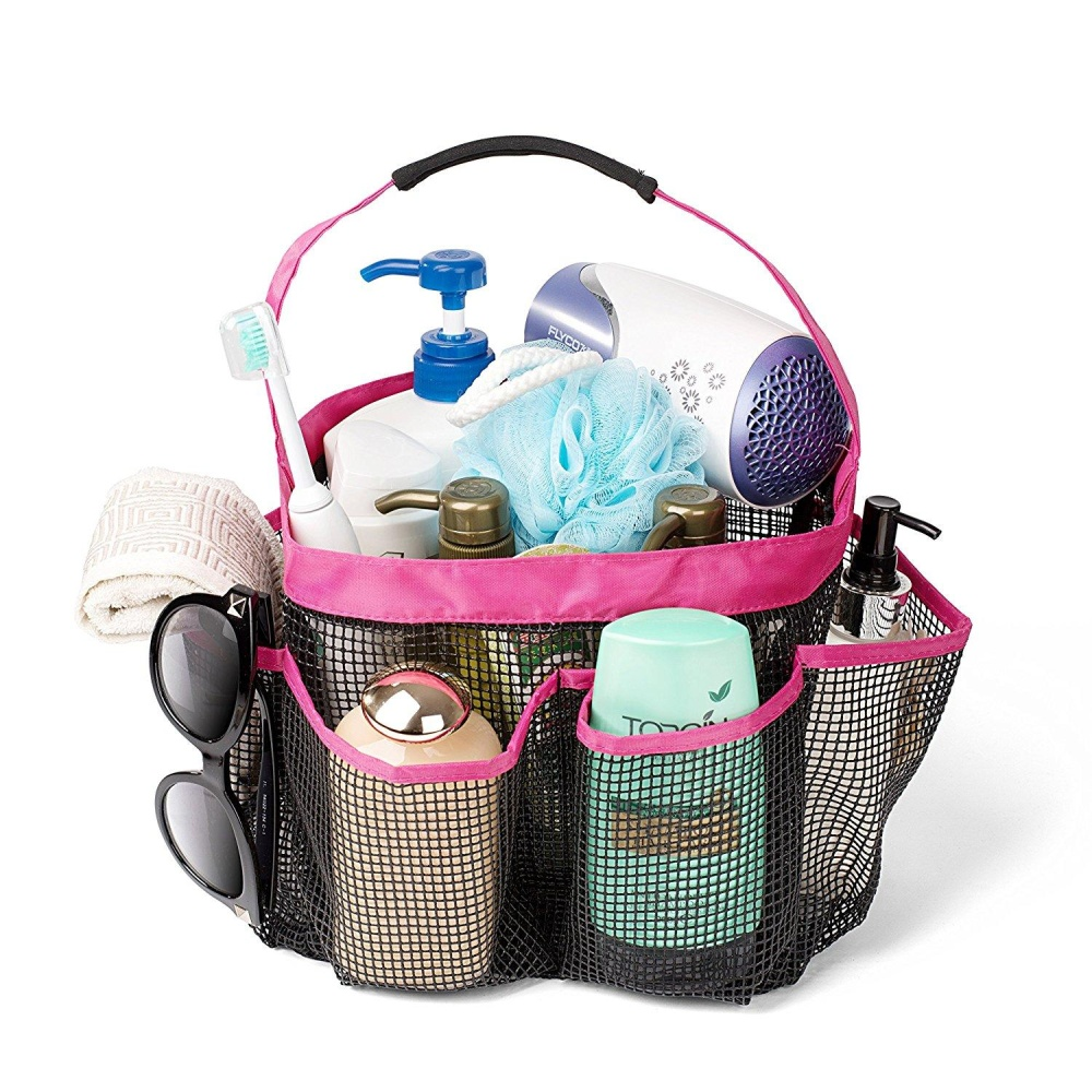 Philippines | 8 Basket Pockets Dorm Bathroom Caddy Organizer with ...