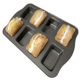 8 Cup Non-Stick Mini Loaf & Brownie Baking Pan, Kitchenware - intl