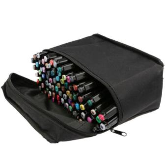 80 Colors Sets Touch Five Alcohol Graphic Art Twin Tip Pen Markers Broad Fine Point(Picea meyeri) - 2