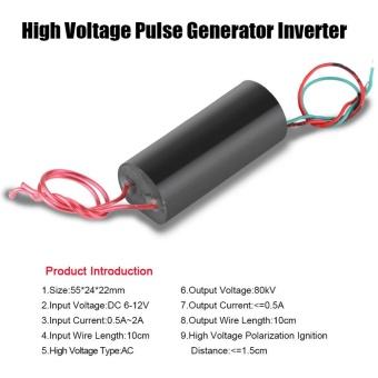 80kV High Voltage Pulse Generator Inverter Super Arc Pulse IgnitionModule 6-12V - intl - 4
