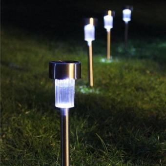 8sets of Garden Solar Light Stainless Steel - 4