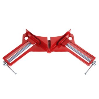 90 degree Right Angle Clamp 100MM Clamps Red