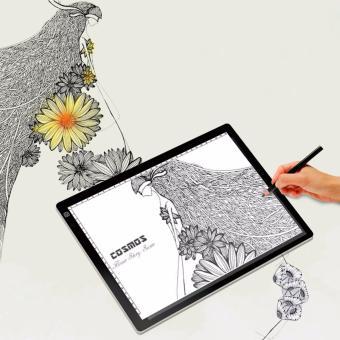 A4 Ultra-Thin Portable LED Light Box Tracer LED Artcraft TracingLight Pad Light Box Tattoo Sketch Art Photo Craft forArtists,Drawing, Sketching, Animation - intl - 4