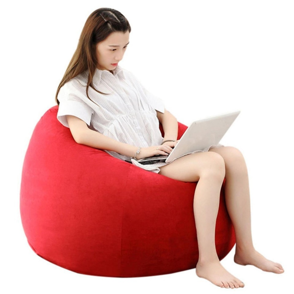 Superb ... Abusun Beanbag Chair Sofa Single Bean Bag Garden Seat Lazy Sofa  Intl  ...