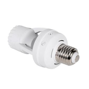 AC110-240V E27 Infrared Motion Sensor LED Lamp Bulb Light Socket With Adjustable Switch - intl - 5
