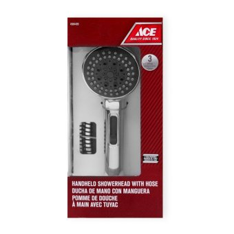 Ace Hardware 3-setting Handheld Showerhead with Hose