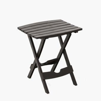 Adams Quik-Fold Side Table (Earth Brown)