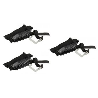 Adjustable Bag Rack Set of 3 (Black)