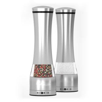 Adjustable Stainless Steel Salt And Pepper Ceramic Grinder - 2