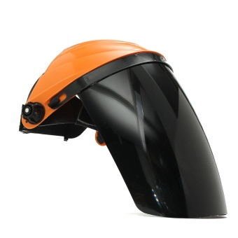 Adjustable Welding Helmet ARC TIG MIG Welder Lens Grinding Mask + Safety Goggles Orange Cover + PC Black Screen - intl - 4