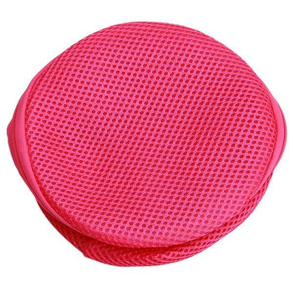 Ai Home Net Washing Bag Laundry Bra Lingerie Mesh Net Bag Rose Red