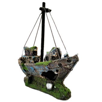 Amango Aquarium Ornament Sailing Boat Price Philippines