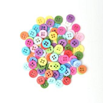 Amango Plastic Round Buttons 100pcs 20mm