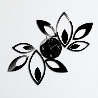 Amart Wall Clock Fashion Wall Art Decor Lotus Flower Clock Price Philippines