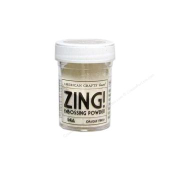 American Crafts Zing Embossing Powder - Whit Opaque Finish (1oz.)