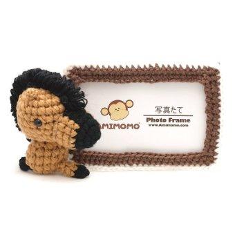 Amimomo Handmade Knitted 4R Photo Frame ( Light Horse )