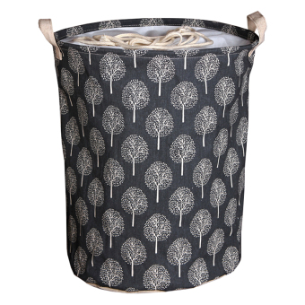 Andux Cotton Laundry Basket Foldable Hamper Storage Barrel with Handles ZYL-01