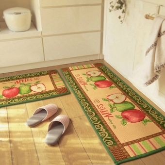 Apple kitchen non-slip absorbent pad