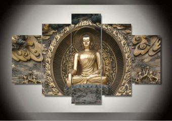 Art Printed Painting Buddha Statue Painting Wall Art Room DecorPrint Poster Picture Canvas Wall Decor Painting (No Frame) Price Philippines